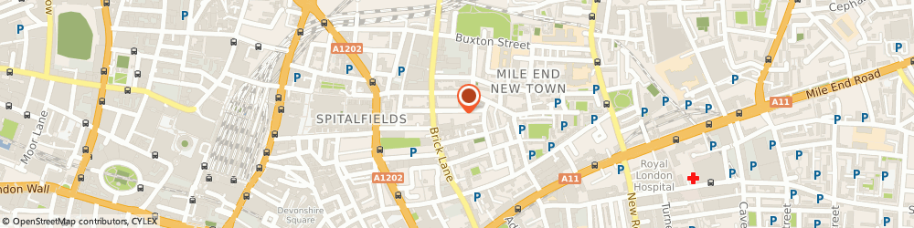 Route/map/directions to K.t.p Printers, E1 5LP London, 37G Princelet Street