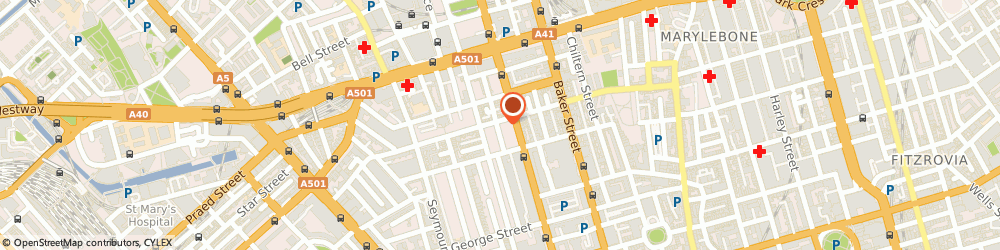 Route/map/directions to Digimax, W1H 2JG London, 113 Crawford Street