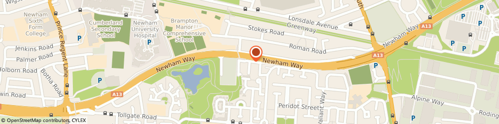 Route/map/directions to Genisis Utilities Ltd, E6 5YS London, 5 Firefly Gardens