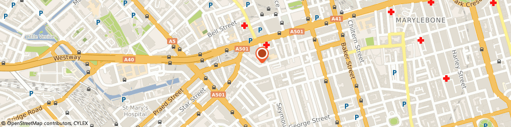 Route/map/directions to Colman Partnership, W1H 4HP London, 27, HARCOURT STREET