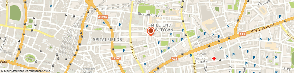 Route/map/directions to UK TEXTILE GROUP LTD, E1 5LP London, 37 Princelet Street