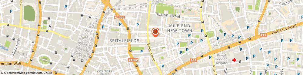 Route/map/directions to Dorpon Media Service, E1 5LP London, 37, PRINCELET STREET