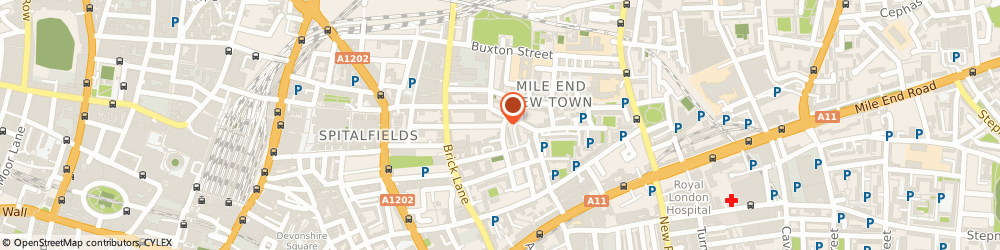 Route/map/directions to I & i Leatherwear, E1 5LP London, 63, PRINCELET STREET