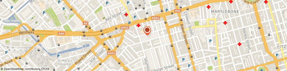 Route/map/directions to Raishma, W1H 1QE London, 73 York St