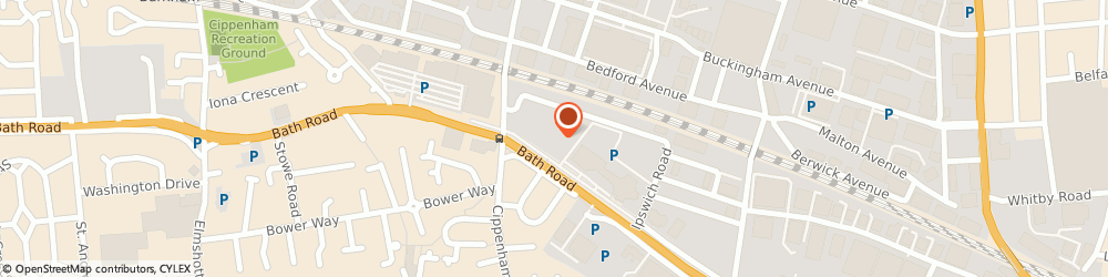 Route/map/directions to Plan Target Vision Limited, SL1 4DX Slough, REGUS HOUSE, 268 BATH ROAD