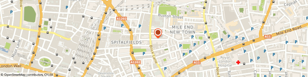Route/map/directions to Oriental Contracting Co Ltd, E1 5LP London, 37A Princelet Street