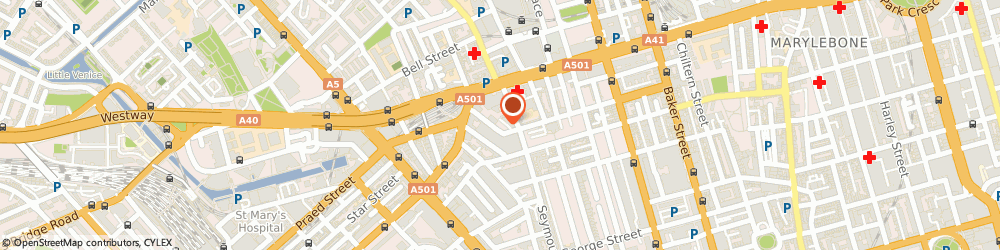 Route/map/directions to Charles Brice Architects, W1H 4EY London, 3 Harcourt Street