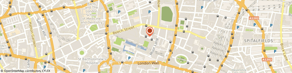 Route/map/directions to Create London, EC2Y 8DS London, Silk St