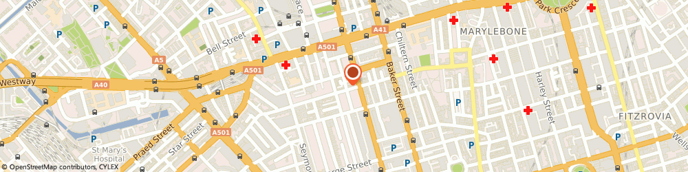 Route/map/directions to Comelite Architecture Structure and Interior Design, W1H 1PJ London, 19 Crawford St, Office 32