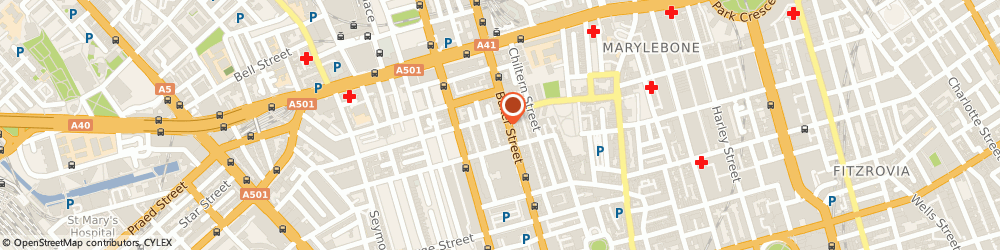 Route/map/directions to Creative Picture Framing, W1U 6RQ London, 81 Baker St