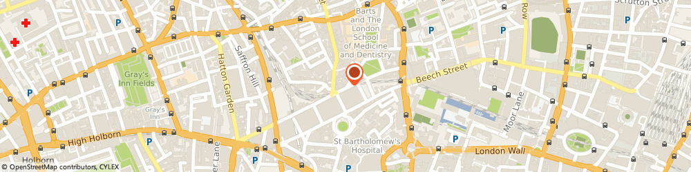 Route/map/directions to Michael Dean, EC1M 6HR London, BOUNDARY HOUSE, 91-93 CHARTERHOUSE STREET