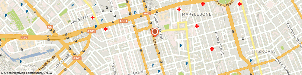 Route/map/directions to MHS, W1U 6AG London, 83 Baker Street