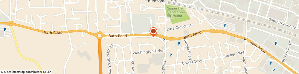 Route/map/directions to Cybersupport Uk, SL1 6AA Slough, 461 Bath Rd
