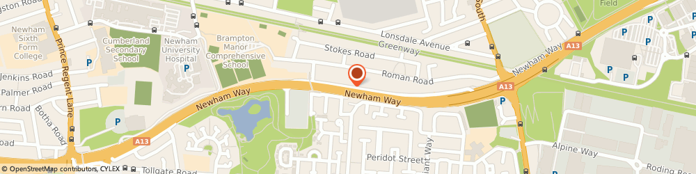 Route/map/directions to B1 Finance, E6 5JL London, 1053 Newham Way