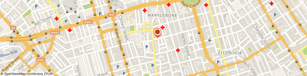 Route/map/directions to Malene Birger, W1U 4PL London, 28-29, Marylebone High St