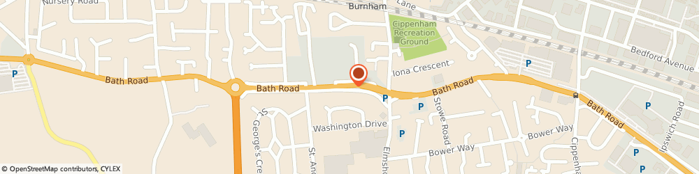 Route/map/directions to Kai's Restaurant & Takeway, SL1 6AA Slough, 467 Bath Road