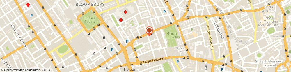 Route/map/directions to Ted Baker - LONDON, WC1X 8SP London, 31 Theobalds Road