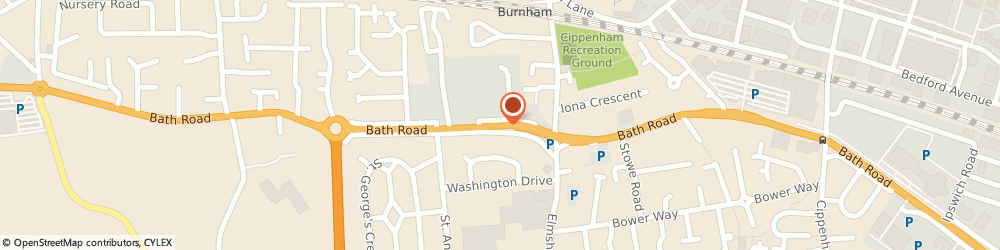 Route/map/directions to The Kai-Leung, SL1 6AA Slough, 467 Bath Rd