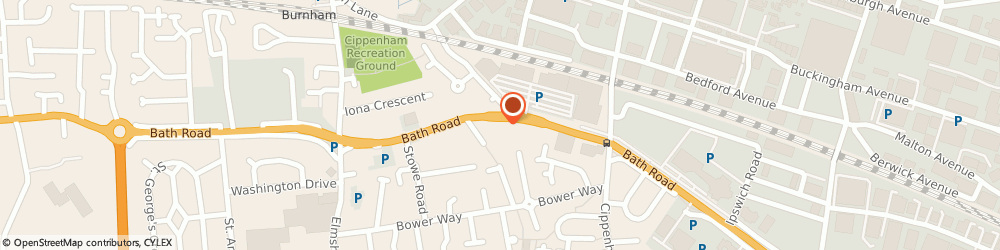 Route/map/directions to Masons Accountants, SL1 5PR Slough, 337 Bath Rd