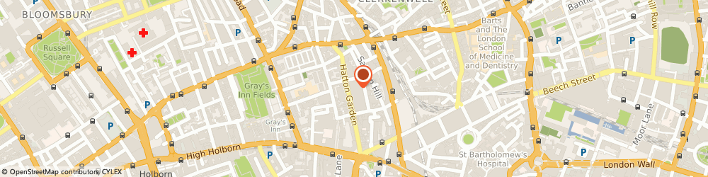 Route/map/directions to Gorman Darby & Co, EC1N 8EH London, 39 Hatton Garden