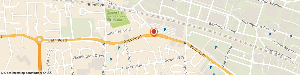 Route/map/directions to Magic Motorcycles, SL1 5PR Slough, 351 Bath Rd, Cippenham