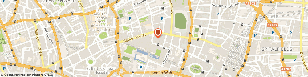 Route/map/directions to Ufc Aerospace Europe Limited, EC2Y 8HQ London, 1 SILK STREET