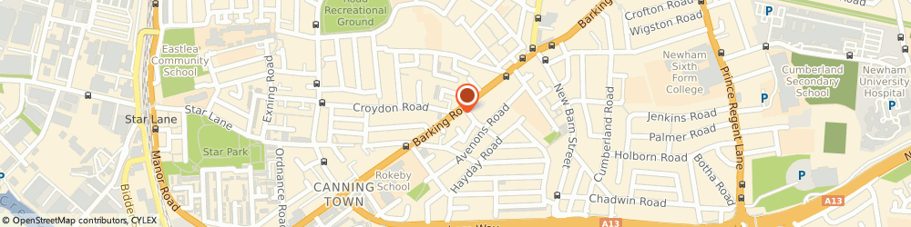 Route/map/directions to Commercial Cars, E13 8EQ London, 281A, BARKING ROAD