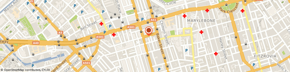 Route/map/directions to Bakersmith Design, W1U 6PZ London, 26 YORK  ST