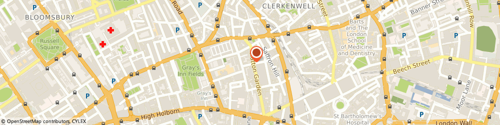 Route/map/directions to Sendean Cameras, EC1N 8UH London, 22-23 St Cross St