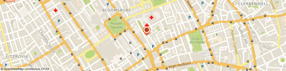 Route/map/directions to Ross Wall, WC1N 3AX London, 27 Old Gloucester Street