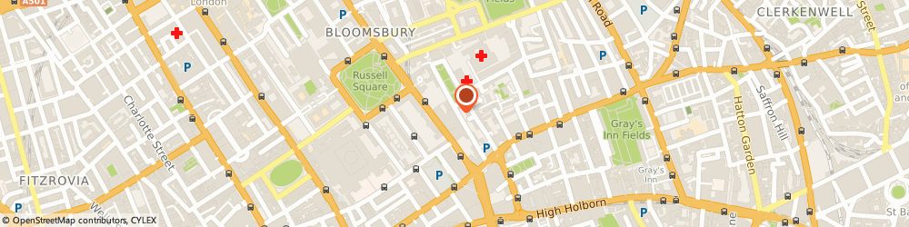 Route/map/directions to Ceiling Tech, WC1N 3AX London, 27 Old Gloucester St
