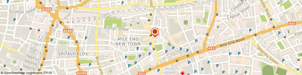 Route/map/directions to Palkie Video Wedding Service, E1 5HS London, VALLANCE ROAD