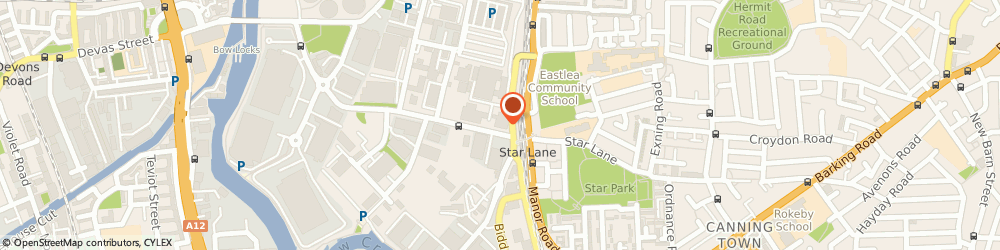 Route/map/directions to Hire Station - Canning Town (402), E16 4SA London, Stephenson Street