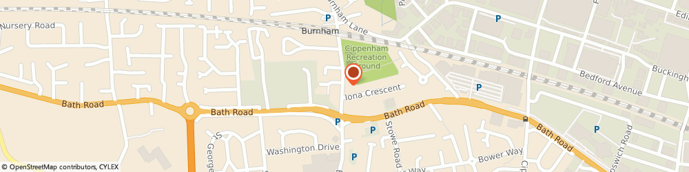 Route/map/directions to PHE Domestic Services Ltd, SL1 6JJ Slough, 11A Station Rd