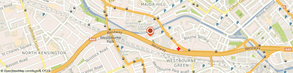 Route/map/directions to Marble Private Event Agency, W2 5EU London, Great Western Studios Alfred Road