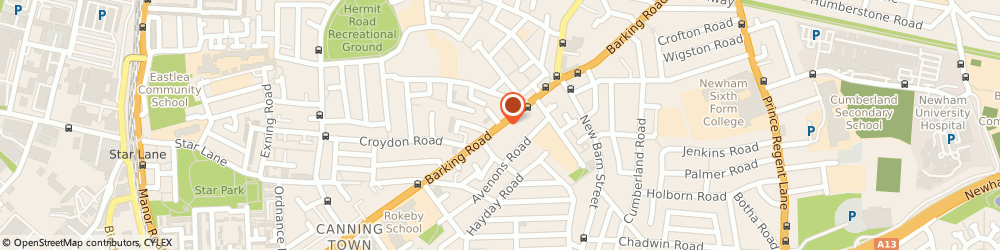 Route/map/directions to Jays, E13 8EE London, 349 Barking Rd
