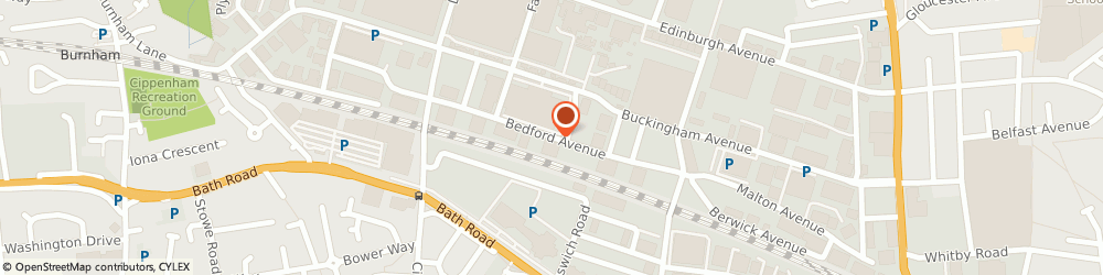 Route/map/directions to Bedford Fabrications, SL1 4RA Slough, 8D BEDFORD AVE