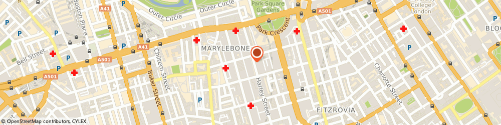 Route/map/directions to Cavendish Imaging, W1G 6AN London, 109 Harley St