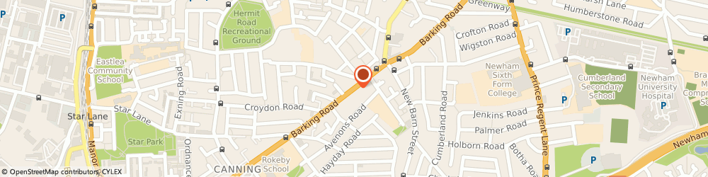 Route/map/directions to Elegant Ice, E13 8EE London, 315 Barking Road