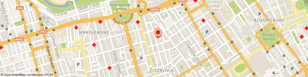 Route/map/directions to Avanta Media Village, W1W 5BB London, 131-151 Great Titchfield St