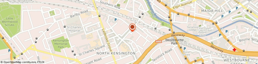 Route/map/directions to Lisboa Papelaria & Retrosaria, W10 5NR London, 57 Golborne Road