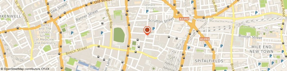 Route/map/directions to Naked Communications Ltd, EC2A 2BB London, 5Th Floor, 69, Wilson Street