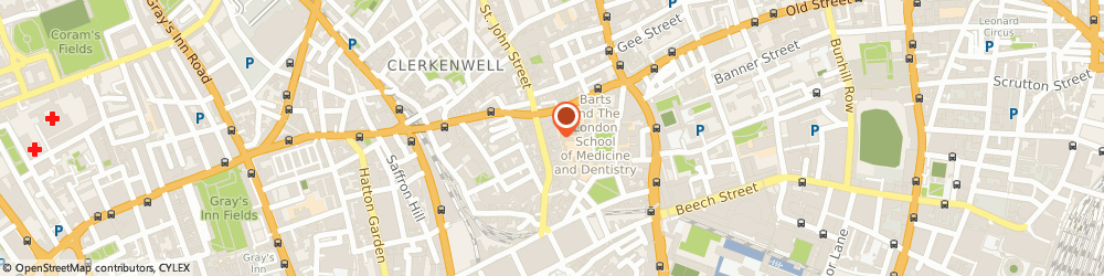 Route/map/directions to Contessa Curtains Limited, EC1M 4JN London, 82 St John Street