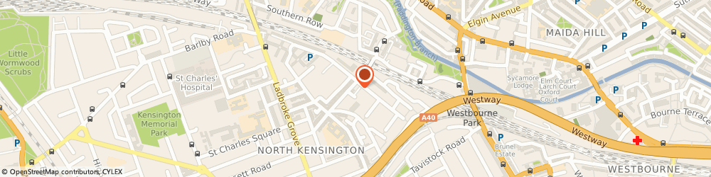 Route/map/directions to Sez, W10 5NP London, 71 GOLBORNE ROAD