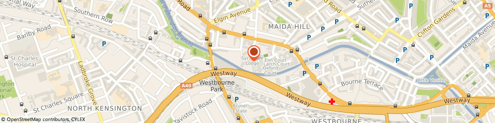 Route/map/directions to Comfort Executive London, W9 2BA London, 7 WOODFIELD ROAD