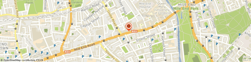 Route/map/directions to Mile End Snooker, E1 4AA London, 229 MILE END ROAD