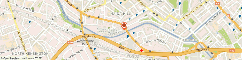 Route/map/directions to Weddings by Bespoke, W9 3TP London, 6 Nuffield, Carlton Gate, Admiral Walk