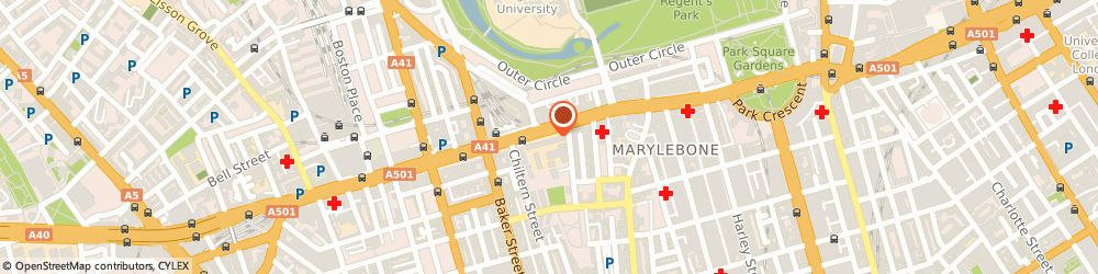 Route/map/directions to Policy Studies Institute, NW1 5LS London, 35 Marylebone Rd