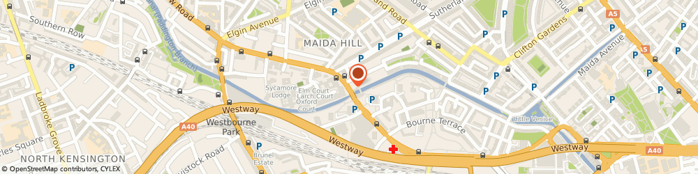 Route/map/directions to UPS Solutions Logistics, W9 2HP London, 332 Harrow Road
