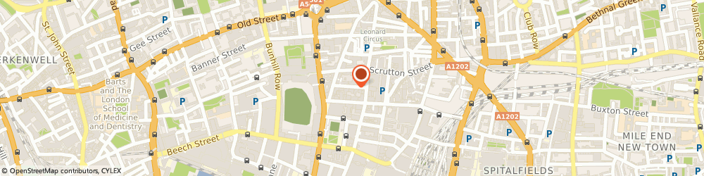Route/map/directions to Inca, EC2A 4BX London, 6-8 Bonhill Street